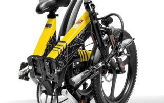 g650 yellow 104ah folding bicycle full suspension 10498