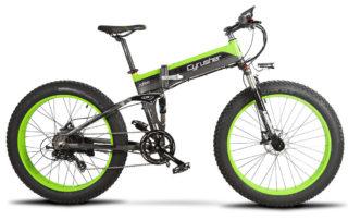 xf690 green black 500w 48v 10ah 7sp fat tire elect 10097