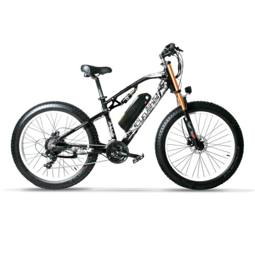 Cyrusher xf900 Fat Tire eBike - White